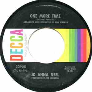 Jo Anna Neel - The Sparrow And Me / One More Time