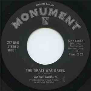 Wayne Carson - The Grass Was Green