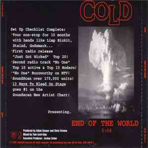 Cold  - End Of The World FLAC album