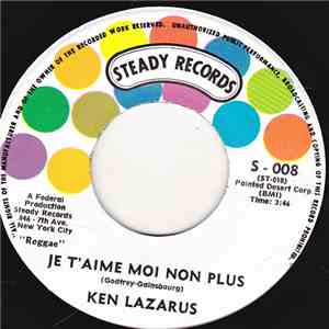 Ken Lazarus - Je T'aime Moi Non Plus / You're Gonna Need Somebody FLAC album