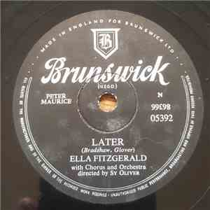 Ella Fitzgerald - Later / Lullaby Of Birdland