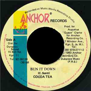 Cocoa Tea - Bun It Down