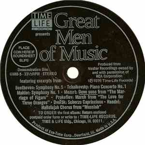 Unknown Artist - Great Men Of Music FLAC album