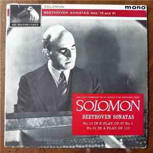 Beethoven, Solomon  - Sonata No. 13 In E Flat Major / Sonata No. 21 In A Flat Major