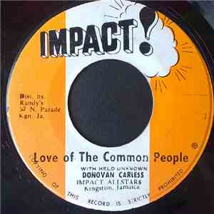 Donovan Carless / Impact Allstars - Love Of The Common People FLAC album