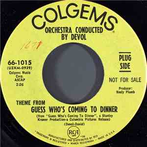 Orchestra Conducted By DeVol - Theme From Guess Who's Coming To Dinner