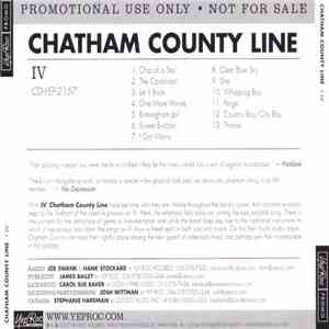 Chatham County Line - IV