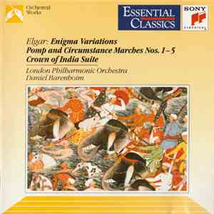 Elgar / London Philharmonic Orchestra / Daniel Barenboim - Enigma Variations - Pomp And Circumstance Marches Nos. 1-5 - Crown Of India Suite
