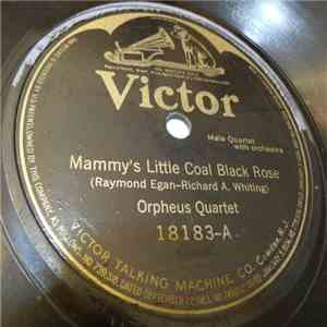 Orpheus Quartet - Mammy's Little Coal Black Rose / When Evening Shadows Fall